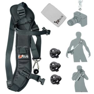 YRMJK Universal Camera Strap Quick Shoulder Belt for DSLR Camera